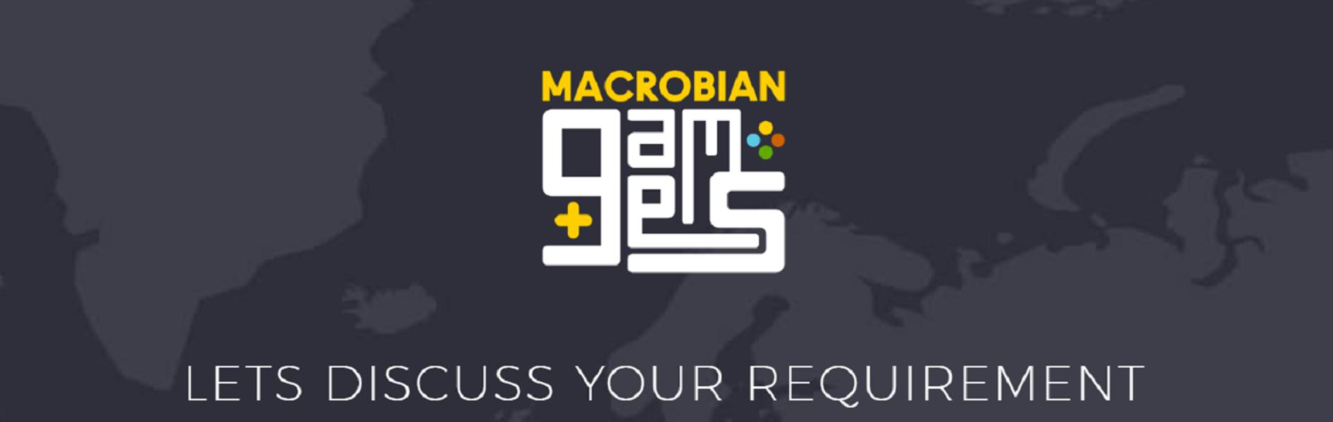 Macrobian Games Banner