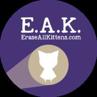 Erase All Kittens Logo