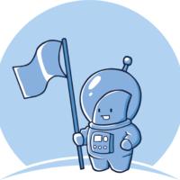 Puny Astronaut Logo