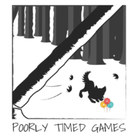 Poorly Timed Games Logo